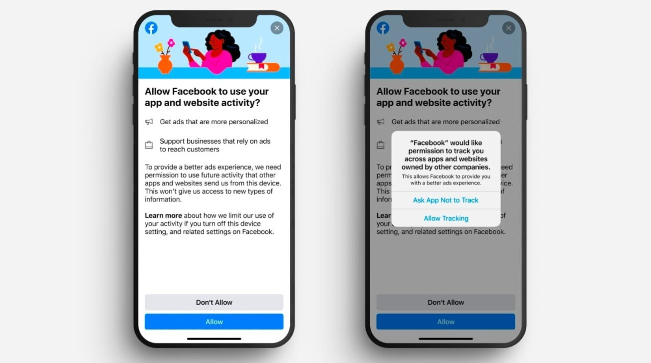 L'App Tracking Transparency met toujours Facebook à mal