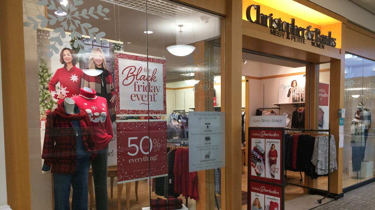 Christopher & Banks store closing sales: All locations liquidating after retailer files for bankruptcy protection