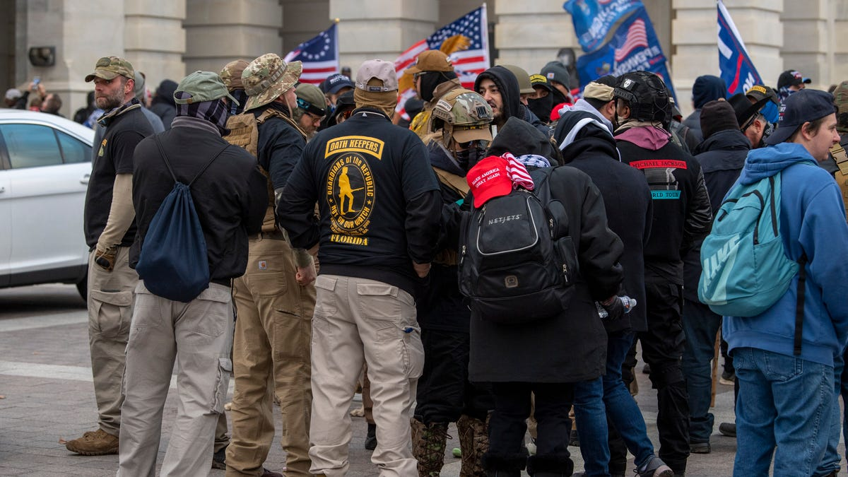 Kroger unwittingly contributed to an Indiana militia group