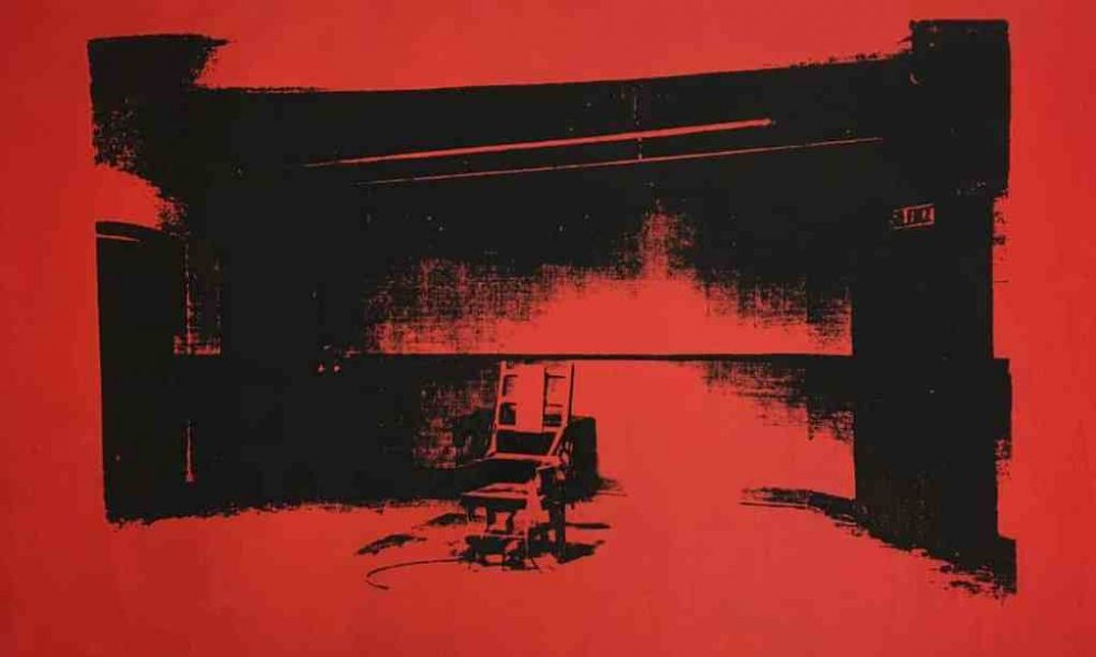 Alice Cooper to Auction Unauthenticated Warhol Electric Chair Painting